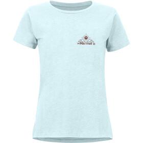 Marmot Arrow T-shirt Dames, blauw